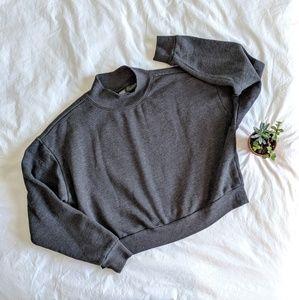Wild Fable Oversized Crop Sweatshirt